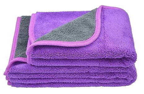 Hope shine toalla de toallas de microfibra coche paños de limpieza de pulido cera polaco de
