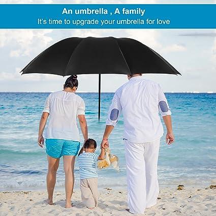 Amazon.com: Full paraguas paraguas plegable con extragrande ...