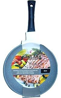 Anilar Sarten 28 Cm, Revistimiento en cerámica, Plateado