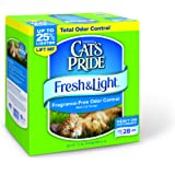 Cat's Pride Fresh and Light Premium Fragrance Free Scoopable Cat Litter