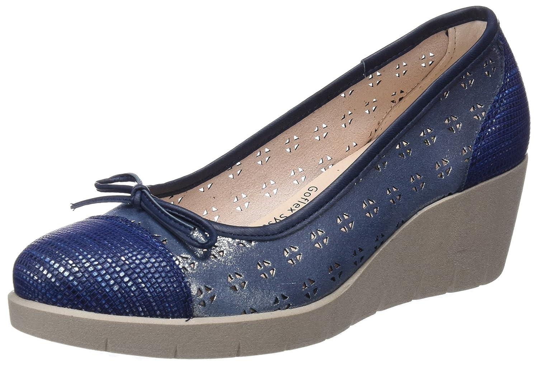 MOMEM Mina, Zapatos de tacón con Punta Cerrada para Mujer