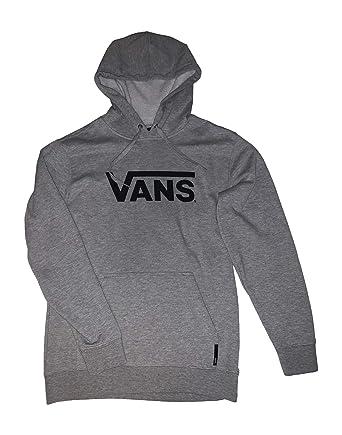 954b5e7f Amazon.com: Vans Men's Drop V Logo Pullover Hoodie: Shoes