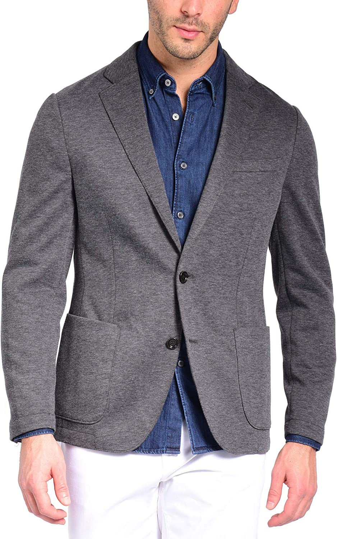 Craft & Soul Men's Slim Fit Unlined Casual Lightweight Tailored Knit Blazer Sport Coat