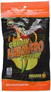 Gummy Habanero Pepper (1.75oz)- Made with REAL Habanero Peppers (Strong Heat)