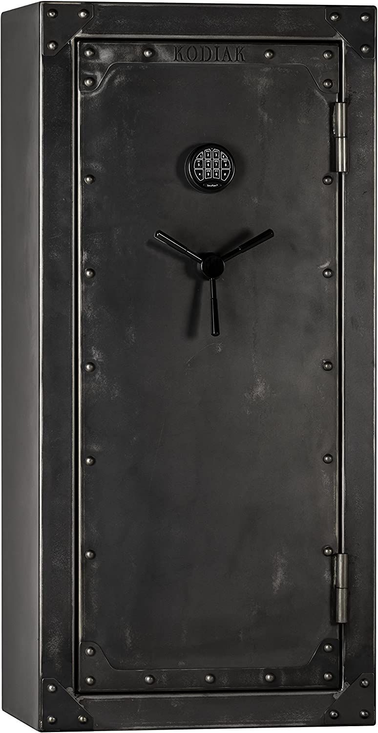 Kodiak Strong Box KSB5928EX-SO Gun Safe by Rhino Metals, 485 lbs, 60 Minute Fire Protection, Patented Swing Out Gun Rack, Electronic Lock and Bonus Deluxe Door Organizer
