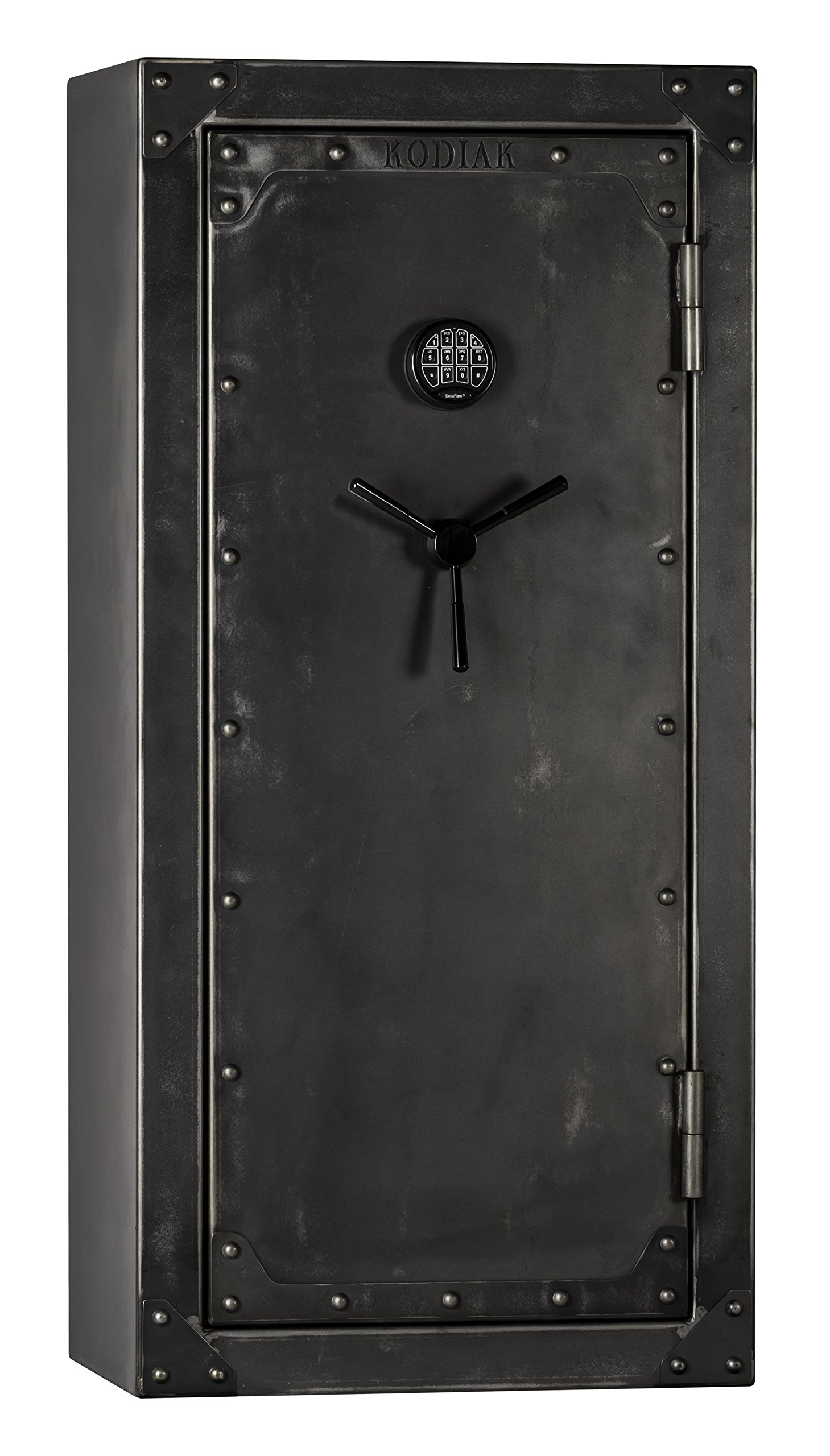 Kodiak Strong Box KSB5928EX-SO Gun Safe by Rhino Metals, 485 lbs, 60 Minute Fire Protection, Patented Swing Out Gun Rack, Electronic Lock and Bonus Deluxe Door Organizer by Kodiak