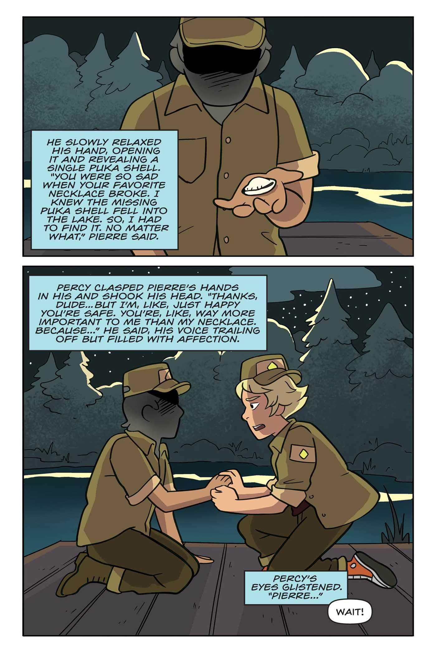 Steven Universe Original Graphic Novel: Camp Pining Play: Nicole