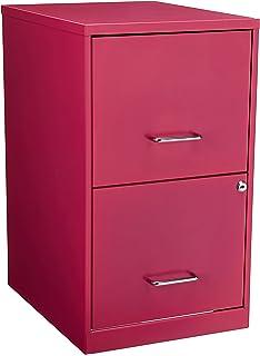 Hirsh 2 Drawer File Cabinet In Pink