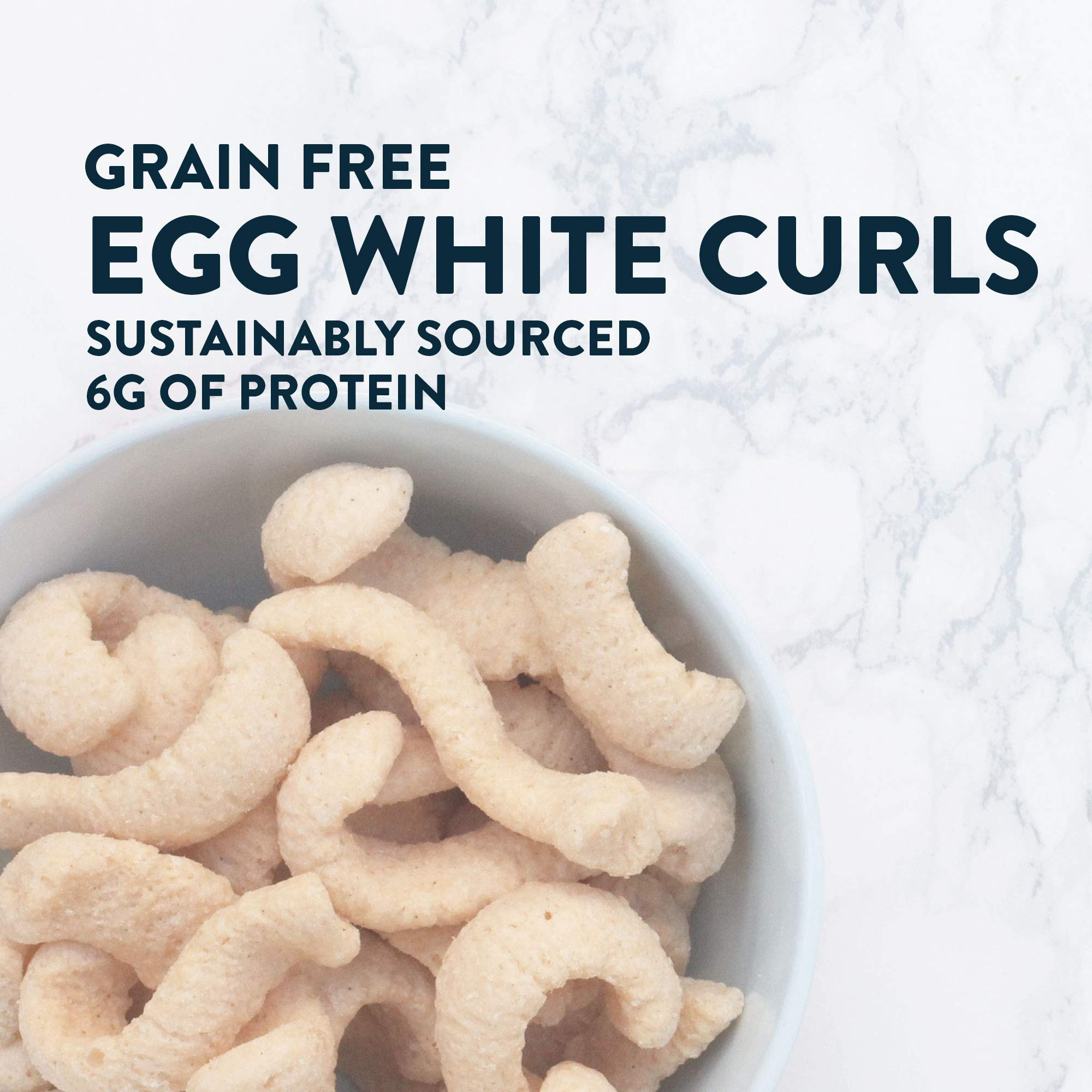 Lesserevil Himalayan Pink Salt Grain Free Egg White Curls, 6 Count by Lesserevil (Image #7)