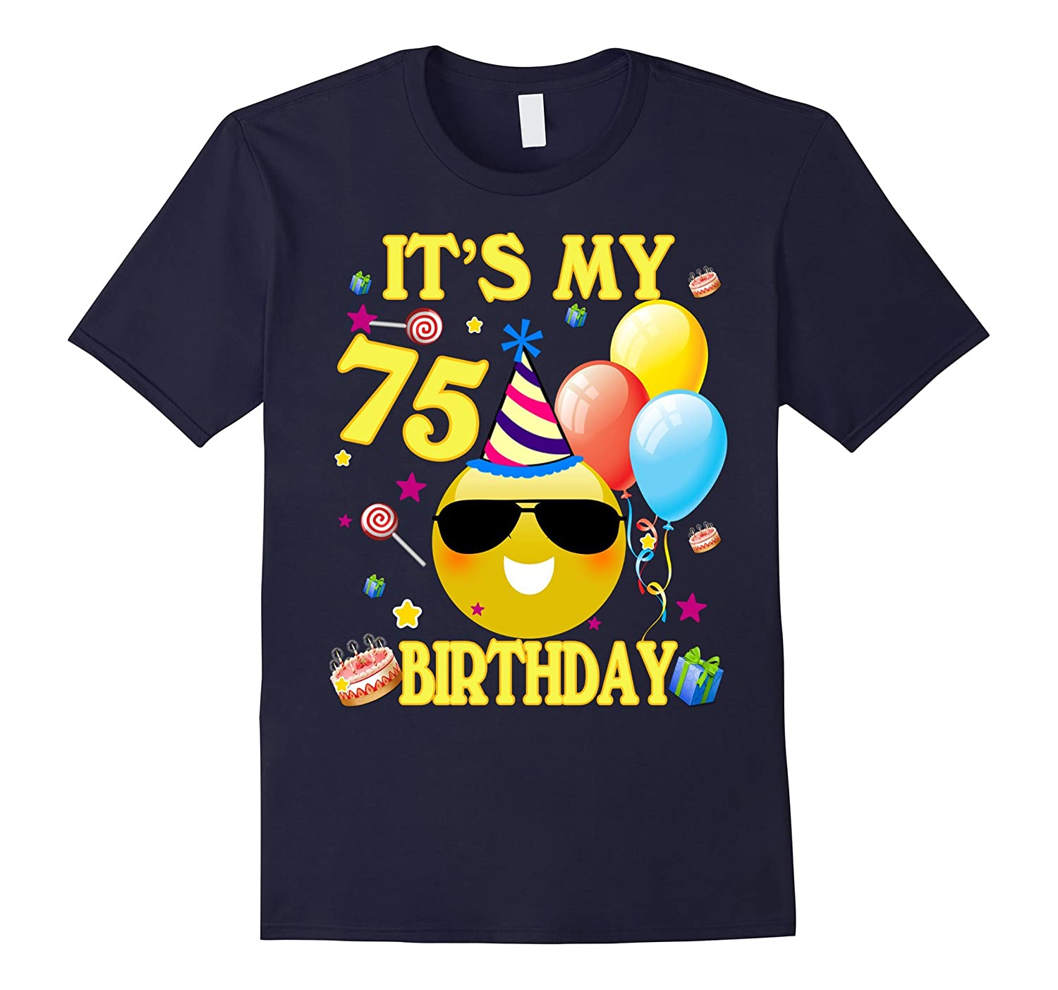 Its My 75th Birthday Shirt 75 Years Old Gift ANZ