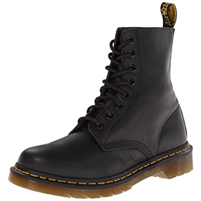 Womens Dr Martens Pascal Virginia Leather Smooth Retro Punk Calf Boots | Mid-Calf
