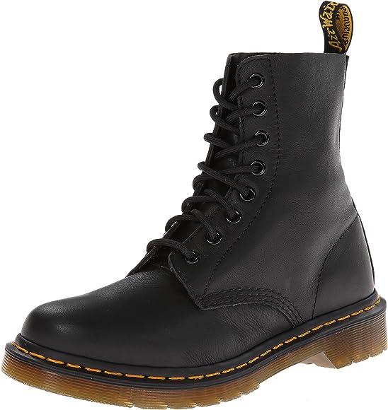 1720c9e952 Dr. Martens Women's Pascal Leather,Black Virginia,3 UK/5 M US: Dr ...