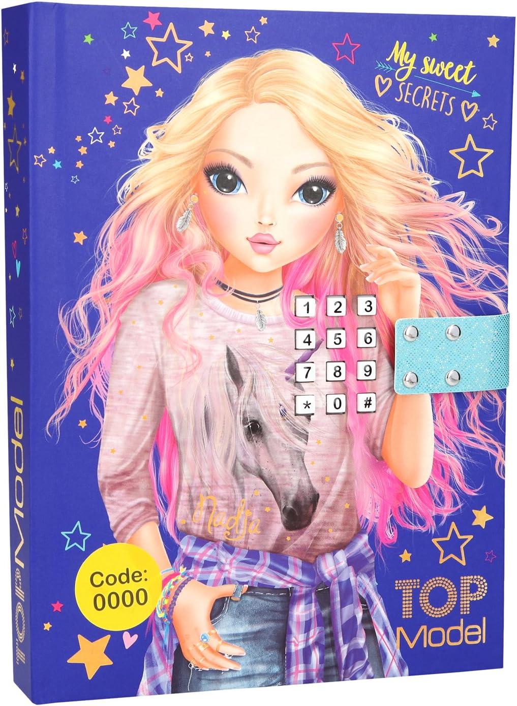 Tagebuch Top Model mit Sound und CodeTop Model Tagebuch mit Code Depesche