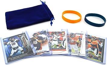 Peyton Manning Denver Broncos Assorted Football Cards 5 Card Lot