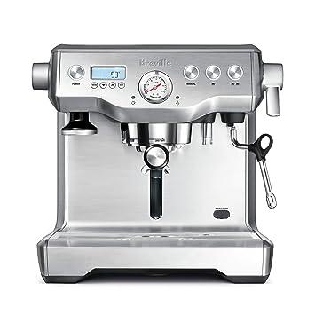 Breville BES920 Independiente Semi-automática Máquina espresso Acero inoxidable - Cafetera (Independiente, Máquina