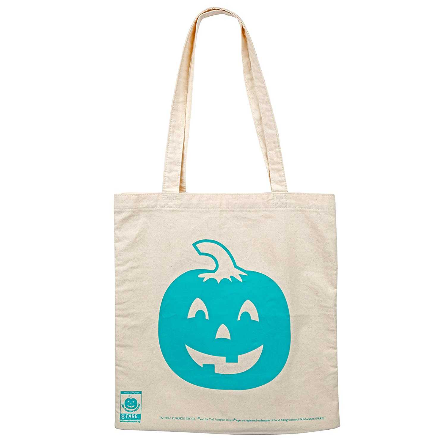 Teal Pumpkin Project Halloween Trick or Treat Bag - All Sales Supports F.A.R.E.