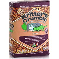 Bedding Coarse Reptile & Small Animal Kritters Crumble Substrate All Natural 20L