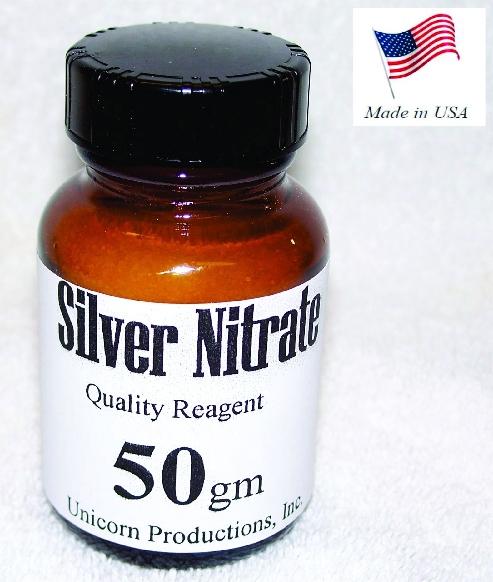 Silver Nitrate - USA Finest - 50gm by UPI Metals