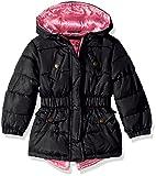 Pink Platinum Baby Girls Anorak Jacket, Black, 12M