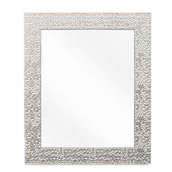 Amazoncom Wall Beveled Mirror Framed Bedroom Or Bathroom