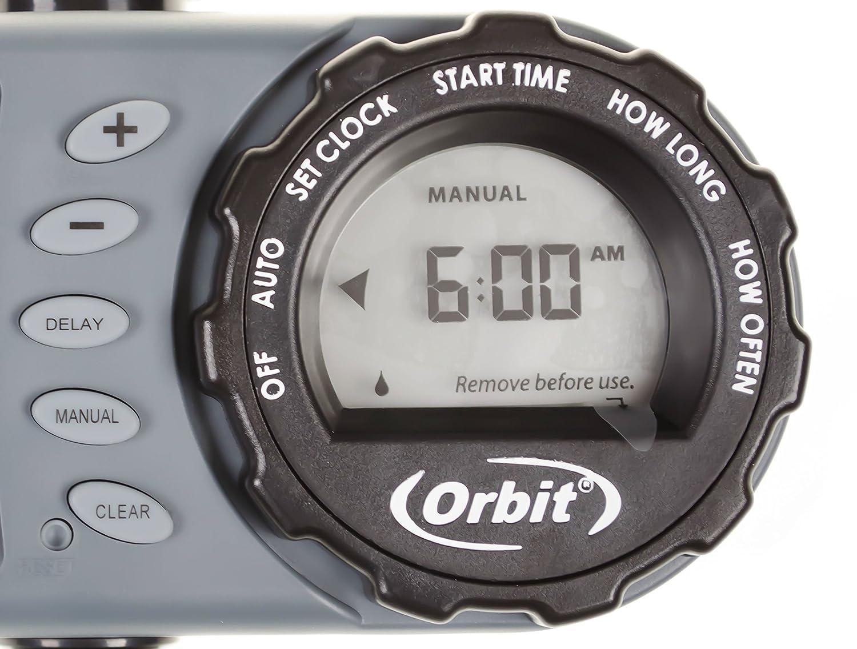 Perfect Orbit 2 Outlet Hose Faucet Timer Instructions Festooning ...