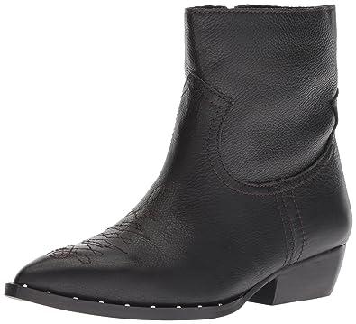 bd800742e6a2 Sam Edelman Women s Ava Ankle Boot Black Leather 5 ...