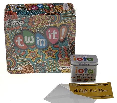 Amazon com: Iota & Twin It! Card Game Bundle with a Gift