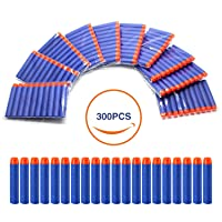 Deals on Geekper Refill Darts 300Pcs Bullets Ammo Pack for Nerf