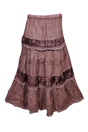 a237aa7a9f Image Unavailable. Image not available for. Color: Mogul Womans Long Skirt  ...