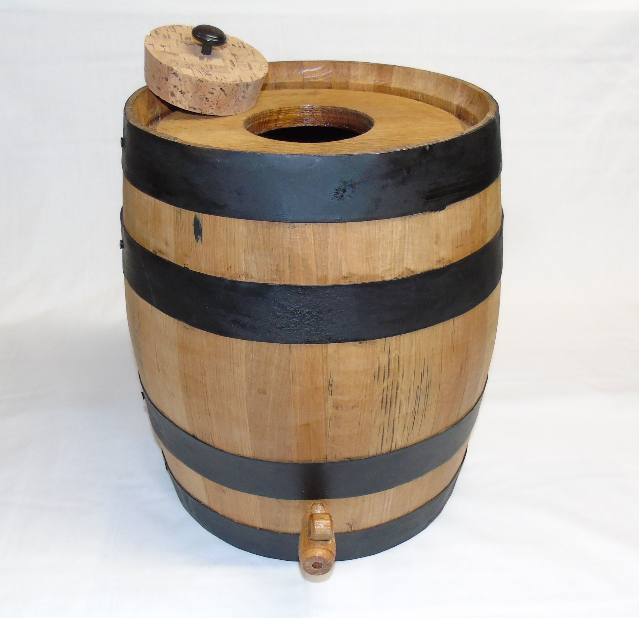 Kombucha Brewing Charred Oak Barrel (20 Liter)
