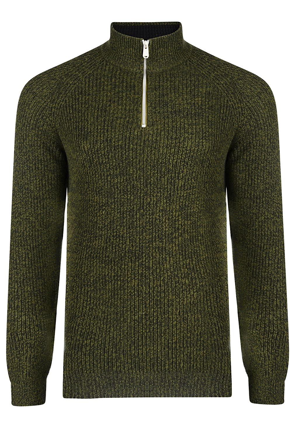 8fe6a375777b5e Threadbare Mens Designer Digby 1/4 Zip Neck Sweater: Amazon.co.uk: Clothing