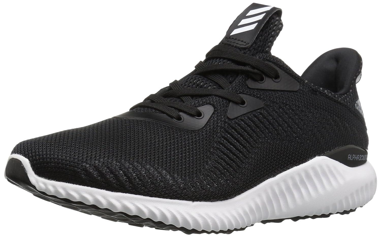 adidas Performance Men's Alphabounce M Running Shoe B01LPAUTYU 10.5 D(M) US|Black/Utility Black/White