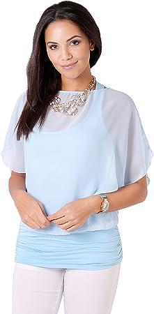 Blusa de mujer elegante muy a la moda,Disponible también en tallas grandes,95% Viscosa; 5% Elastano,