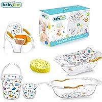 Baby Jem 8699203512537, Beyaz, Bebe Lüx Banyo Seti, 6 Parça
