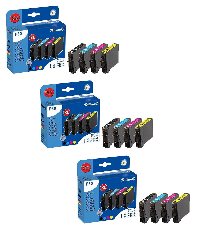 Pelikan cartuchos de tinta 4109521 P30 para para Epson T1636 ...