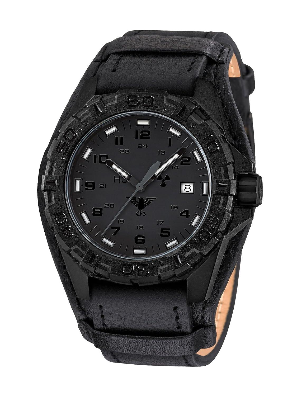 KHS Tactical Watches Reaper XTAC MilitÄr Armbanduhr Nato black KHS.REXT.R