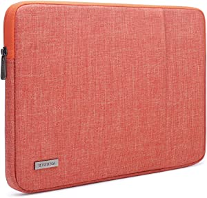 "KIZUNA Laptop Sleeve 11-11.6 Inch Water-Resistant Computer Case Carrying Bag for 12.9"" iPad Pro 2020/13"" Surface Pro X/12.3"" Microsoft Surface Pro 7 6/Dell XPS 13.4 2020/Huawei MateBook 13, Orange"