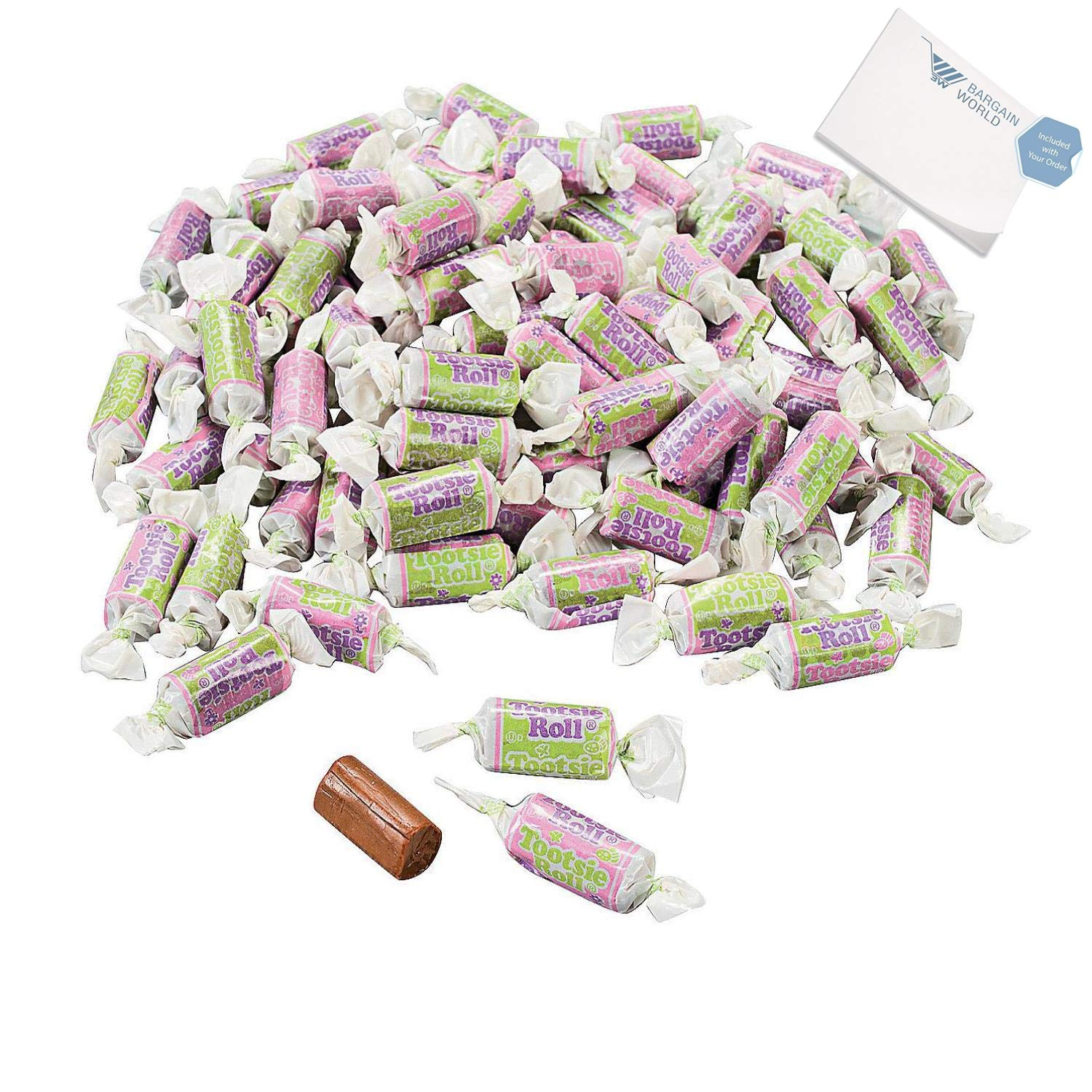 Bargain World Easter Tootsie Roll Midgees (With Sticky Notes)