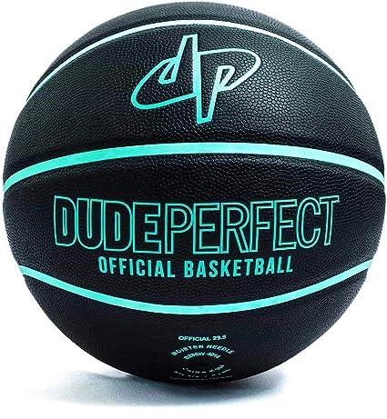 Balón de baloncesto de Dude Perfect, oficial, negro y verde ...