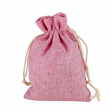 Amazon.com: vlovelife Burlap Candy Bolsas Bolsa de regalo de ...