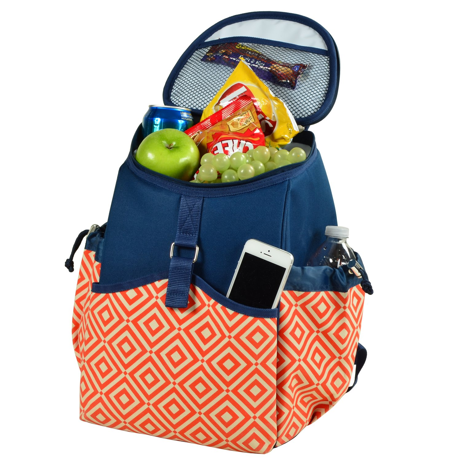 Picnic at Ascot Original Insulated Backpack Cooler- Designed Quality Approved in the USA