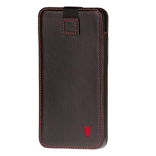 12 opinioni per iPhone 6S Custodia, Pelle. Pregiata vera pelle Custodia, sacchetto, manicotto di
