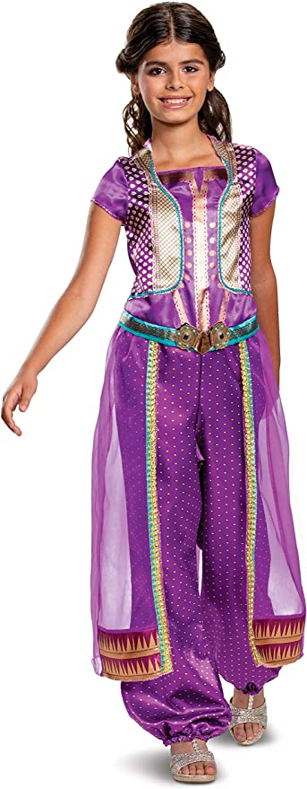 girls toddler Live Action Jasmine Purple Gown Halloween Costume or Birthday Party Dress for infant adult womanwomen