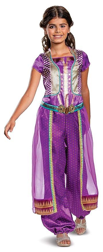 Disney Princess Jasmine Aladdin Girl\u0027s Costume, Purple