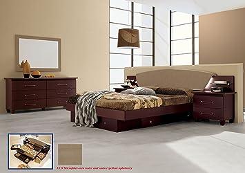 Amazon Com Camelgroup Italian Modern Contemporary Bedroom Set