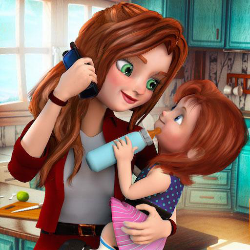 Virtual Mother Family Game Working Mom Simulator 3d Mommy Daycare
