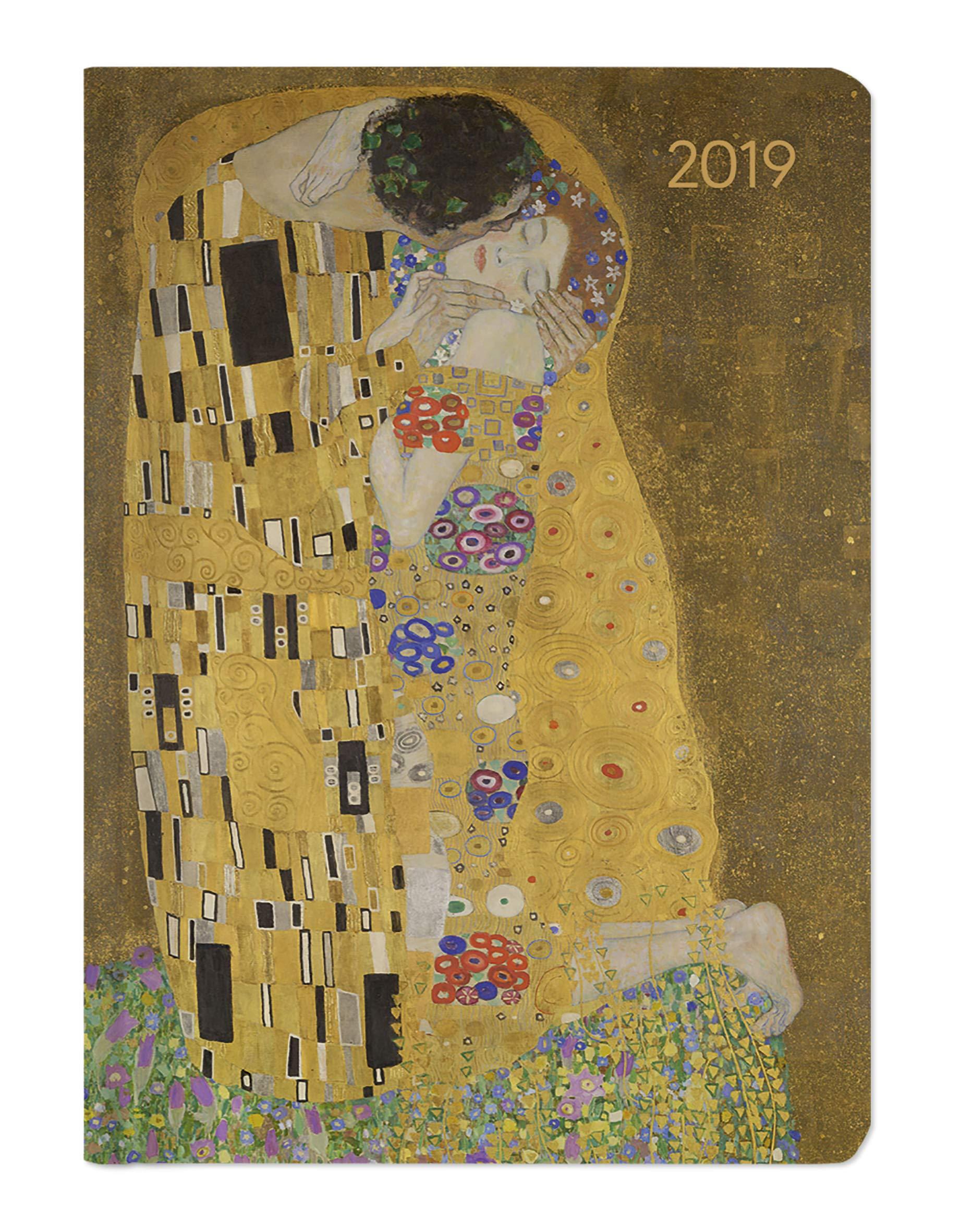 Ladytimer Klimt 2019 - Taschenplaner / Taschenkalender A6 - Weekly - 192 Seiten - Notizen Kalender – Terminkalender, 1. Juni 2018 ALPHA EDITION 3840797861 19.0786 für Frauen und/oder Mädchen