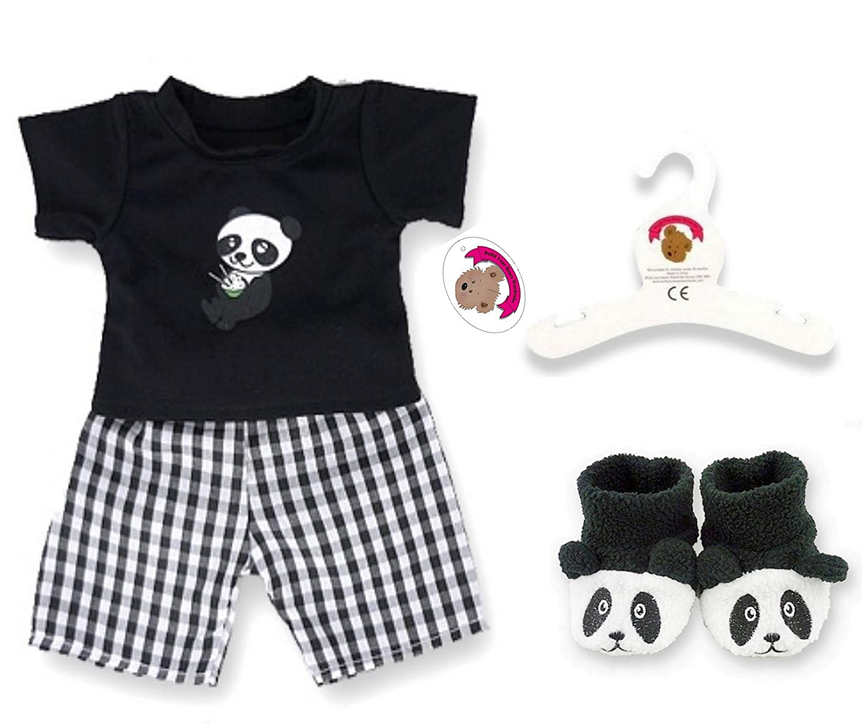 Build Your Bears Wardrobe 5060322143910 Teddy Bear Clothes Black White