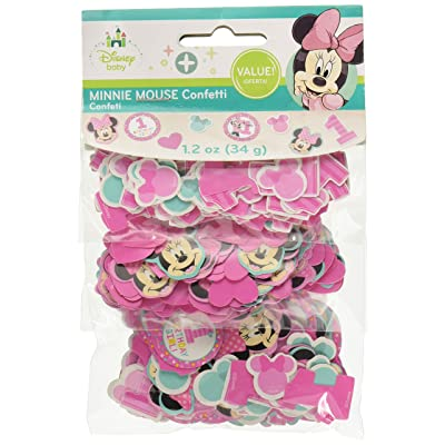 "Disney© Minnie's""Fun to be One"" Value Pack Confetti, Birthday: Toys & Games"
