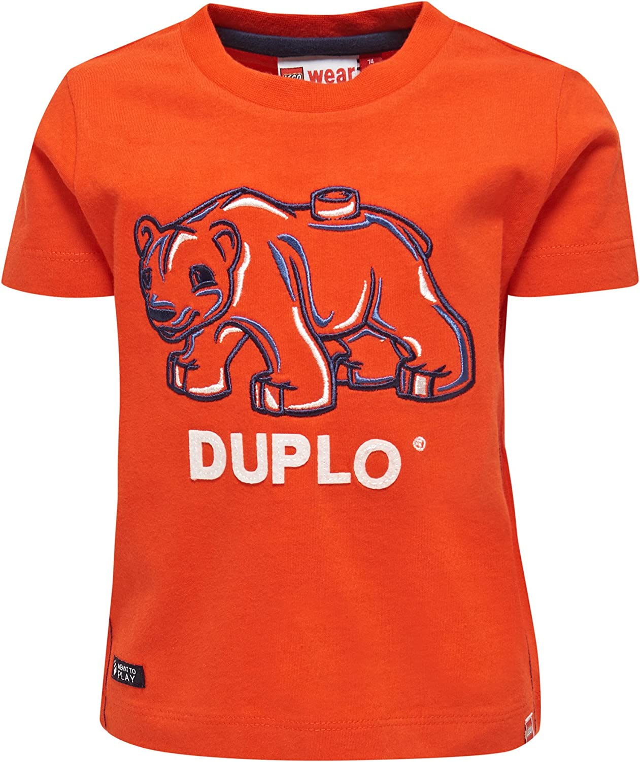 86, Red LEGO Duplo Texas 601 Tshirt
